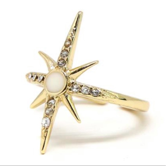 ettika Jewelry - Universe Reflections Ring in Gold